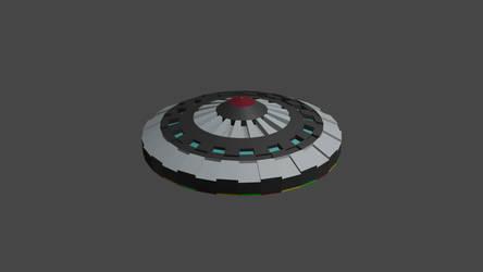 UFO Model OBJ