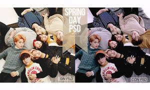 Spring day PSD