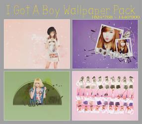 [PSD] I Got A Boy Wallpaper Pack by SammyYun