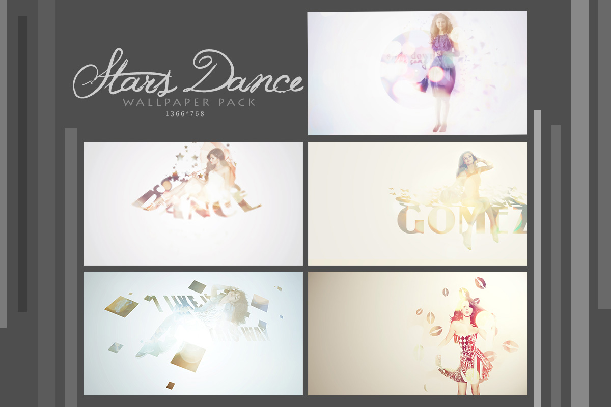 [PSD] Stars Dance Wallpaper Pack by SammyYun