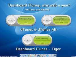 Dashboard iTunes by Atreide