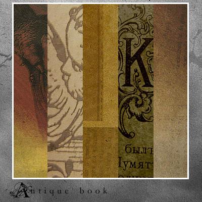 Antique book textures by AmaranthusCaudatus