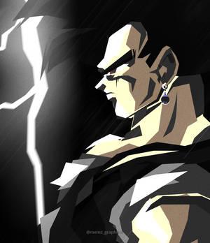 Black Goku Gif