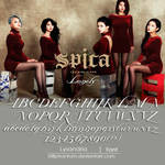Spica Lonely   Font