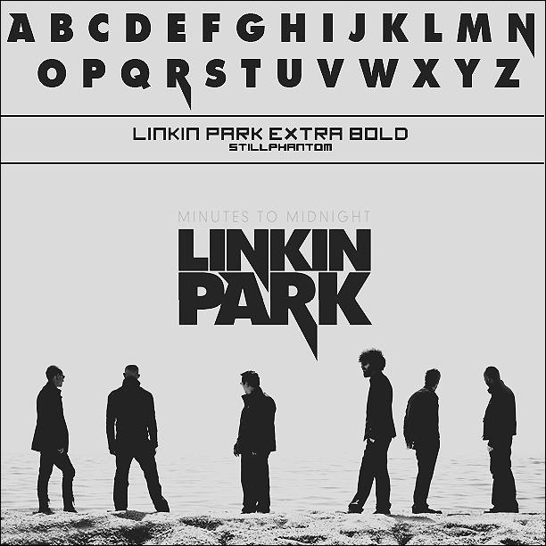 Linkin park minutes to midnight   Font by StillPhantom