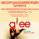 Glee   font