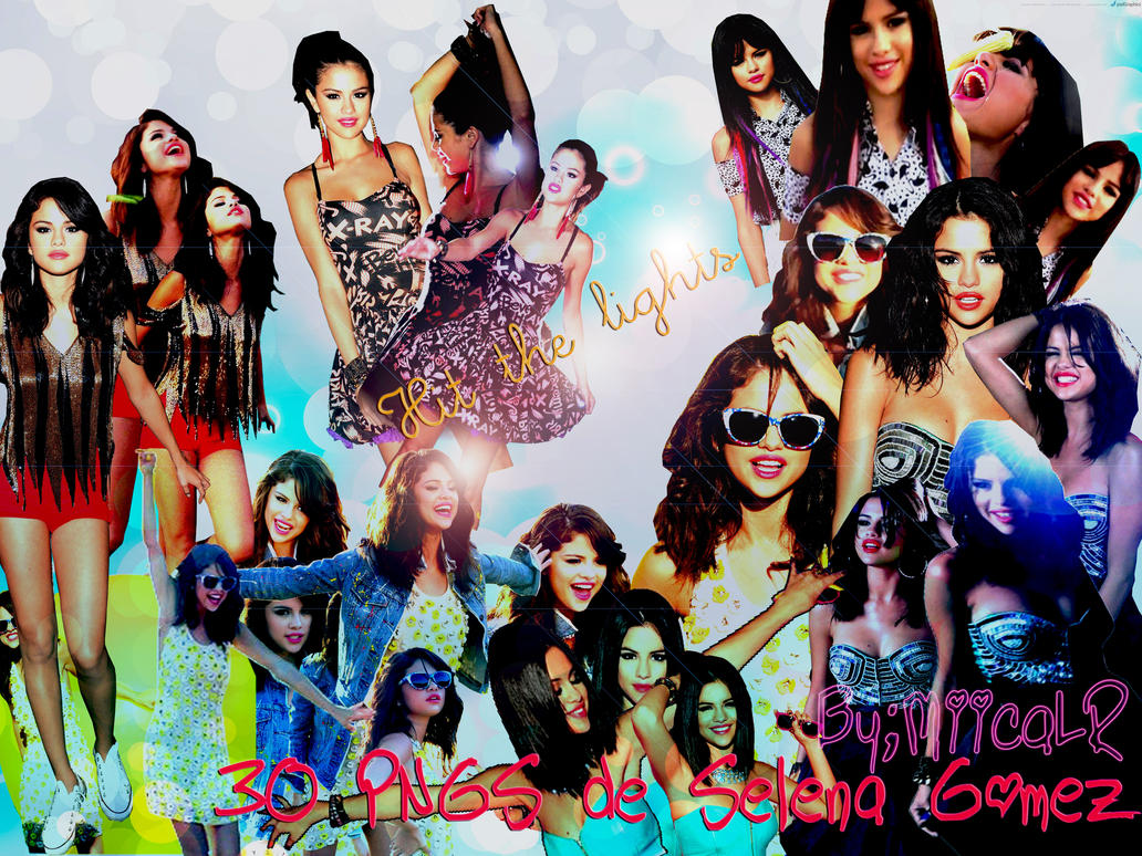 30 PNGS de Selena Gomez Hit the lights. ByMiicaLR by MiicaLR