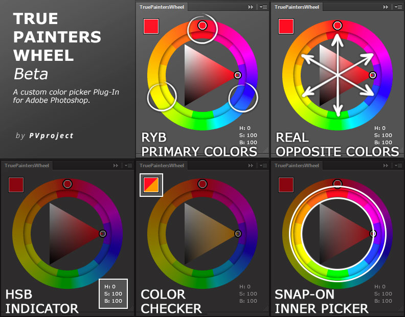 free color wheel photoshop cc 2018
