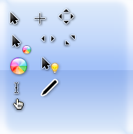Mac os cursors for windows by rian76