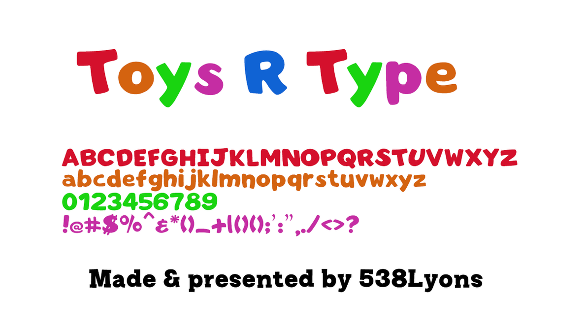 Toys R Us Logotype By Dledeviant On Deviantart