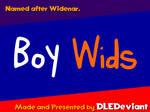 Boy Wids (ORIGINAL FONT)