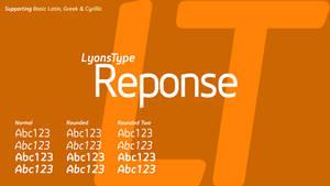 Reponse (original font)