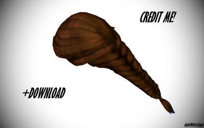 [MMD] Sims 4 Female Hair/Braid (+DL, every color)
