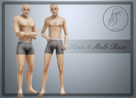 [MMD] Sims 4 Male Base Ver.2 (+Download)
