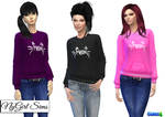 [MMD] Sims 4 Female Cat Meow Sweater (+Download)