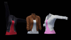 [MMD] Female Bomber Jacket (+DL)