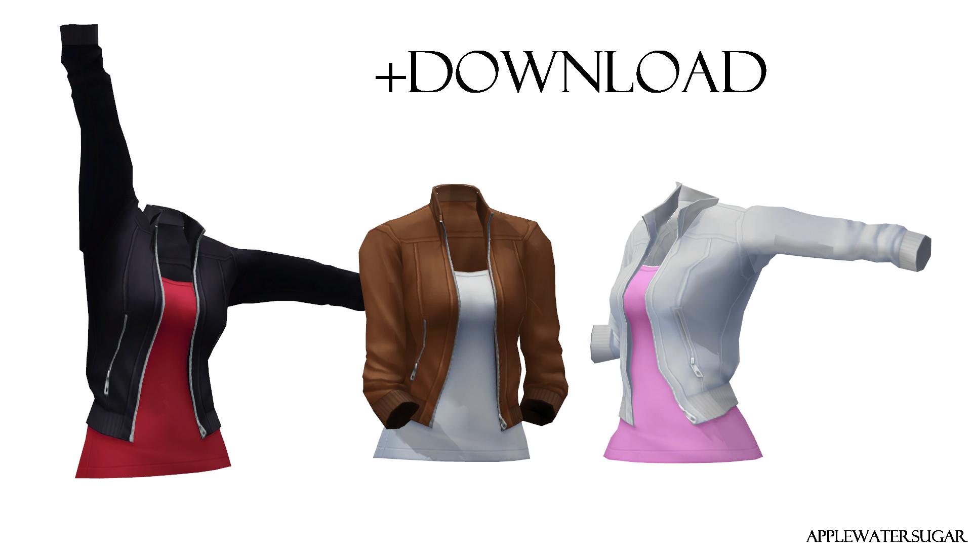 Female Bomber Jacket