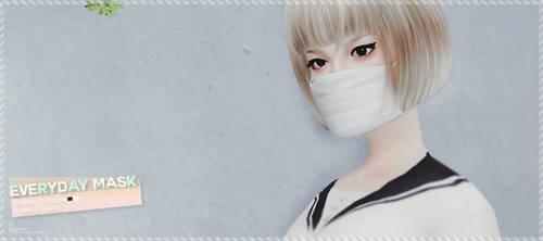 [MMD] Everyday Mask (+DL)