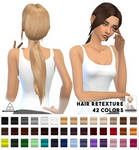[MMD] Sevenhills Sims Zoey Hair (+DL)