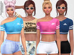 [MMD] Everyday Sporty Tees (+DL)