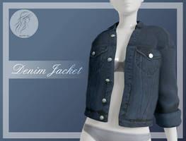 [MMD] Denim Female Jacket (+DL) by AppleWaterSugar