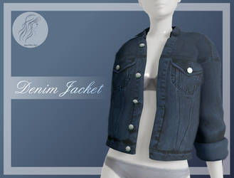 [MMD] Denim Female Jacket (+DL)