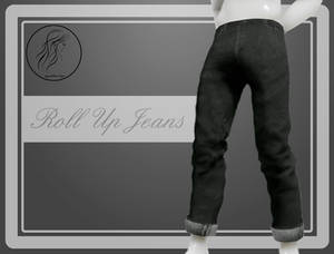 [MMD] Male Roll Up Jeans (+DL)