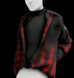 [MMD] Tucked in Shirt (+DL,UNISEX)
