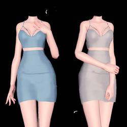 [MMD] Nightfall Dress (+DL)