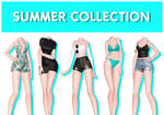 [MMD] Summer Collection (+DL)