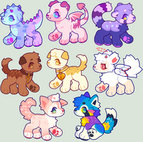 Flatsale Adopts [ closed ] by eellie