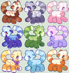 Flatsale Red Panda Adopts [ closed ]