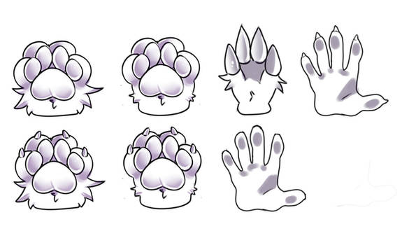 Free To Use Paw Bases!