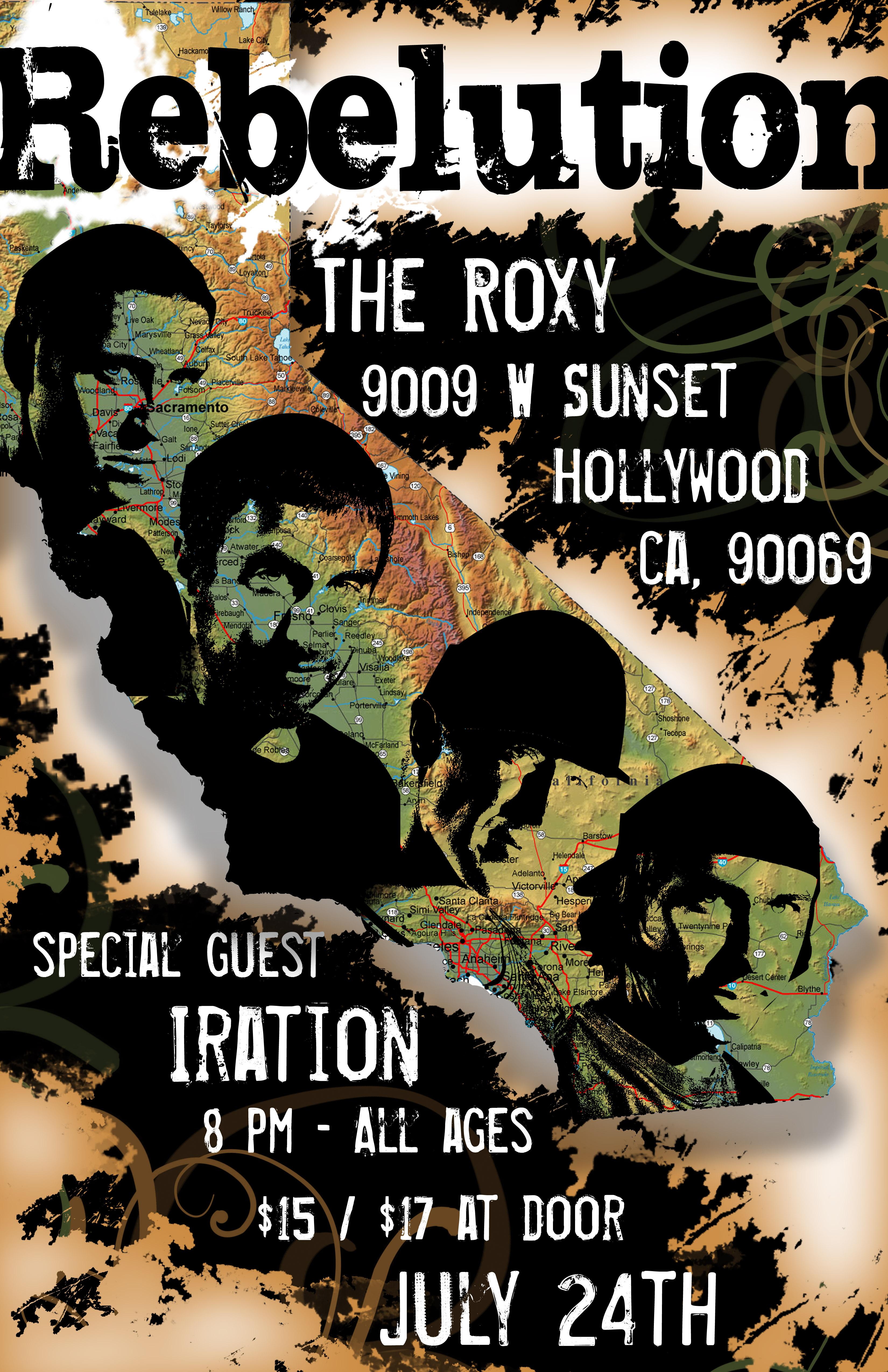 Rebelution Concert Poster By Rkaponm On Deviantart