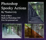 Photoshop Spooky Actions