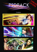 The Amazing Series PSD Pack by Ventarron