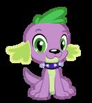 Spike the dog nod (animated)