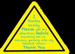 Caution Badge 1