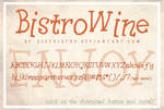 BistroWine [font]