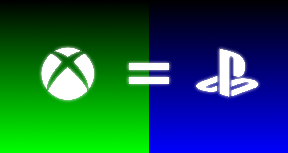 xbox is as good as playstation wallpaper by dagimpartist on deviantart