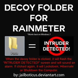 Decoy Folder for Rainmeter by Jailboticus