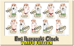 Emi Ibarazaki Clock WAIFU EDITION
