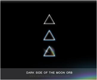 Win7 Orb Dark Side of The Moon by Carlos-Way