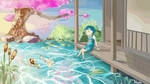 Little pond by Yol3