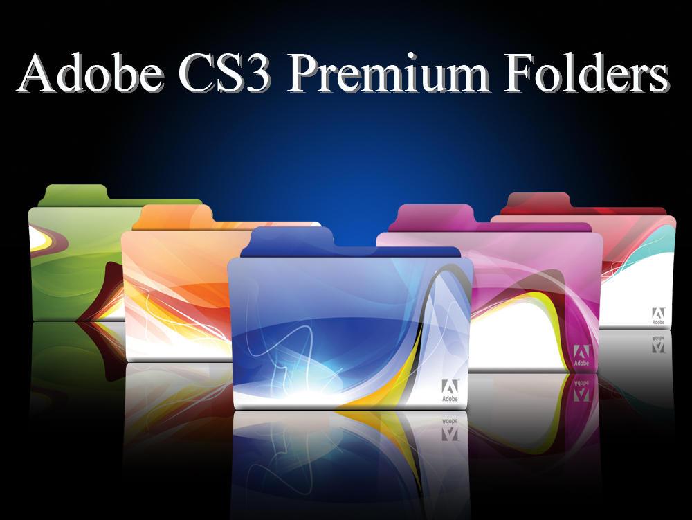 Adobe CS3 Premium Folders by morillon89