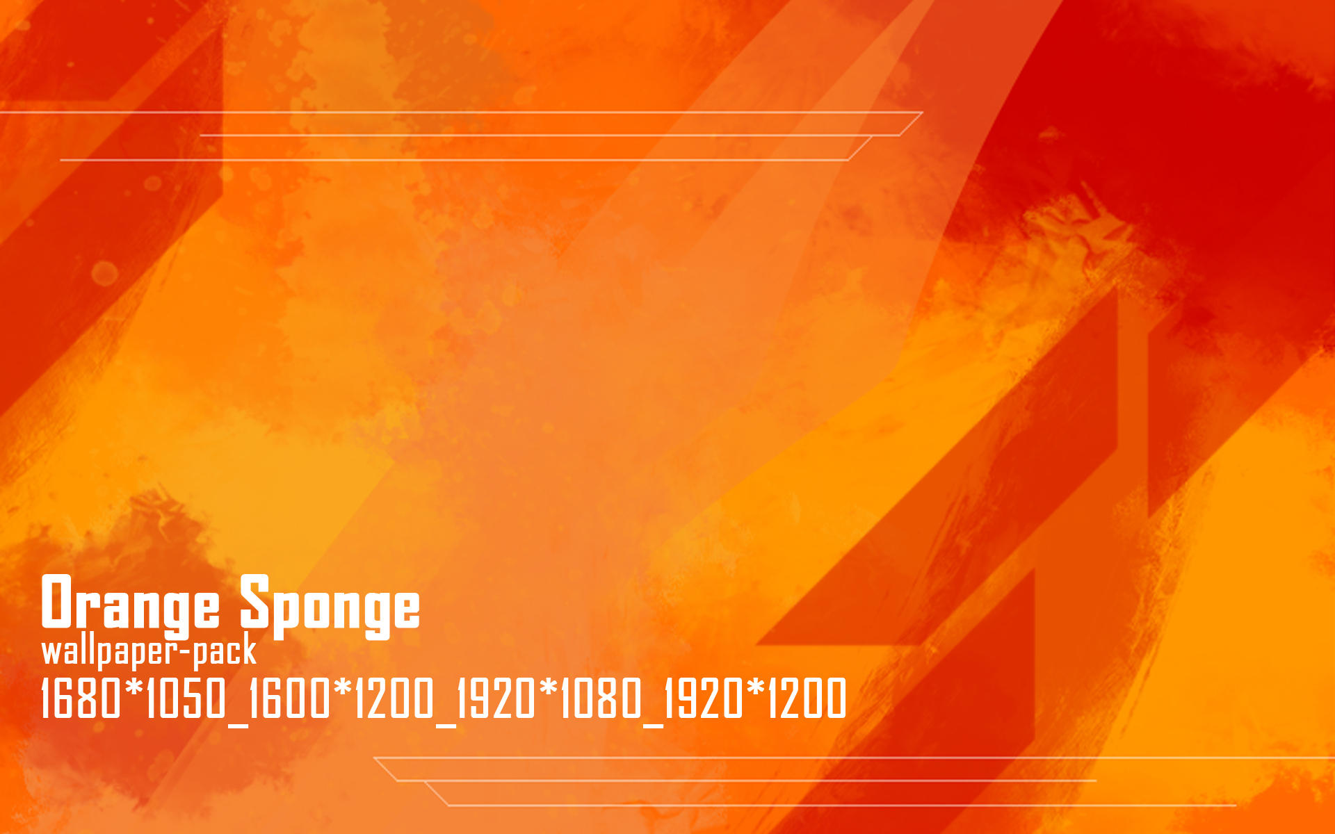 orange sponge wallpaper pack by terrencephil d3fs9xu Wallpaper pack 9
