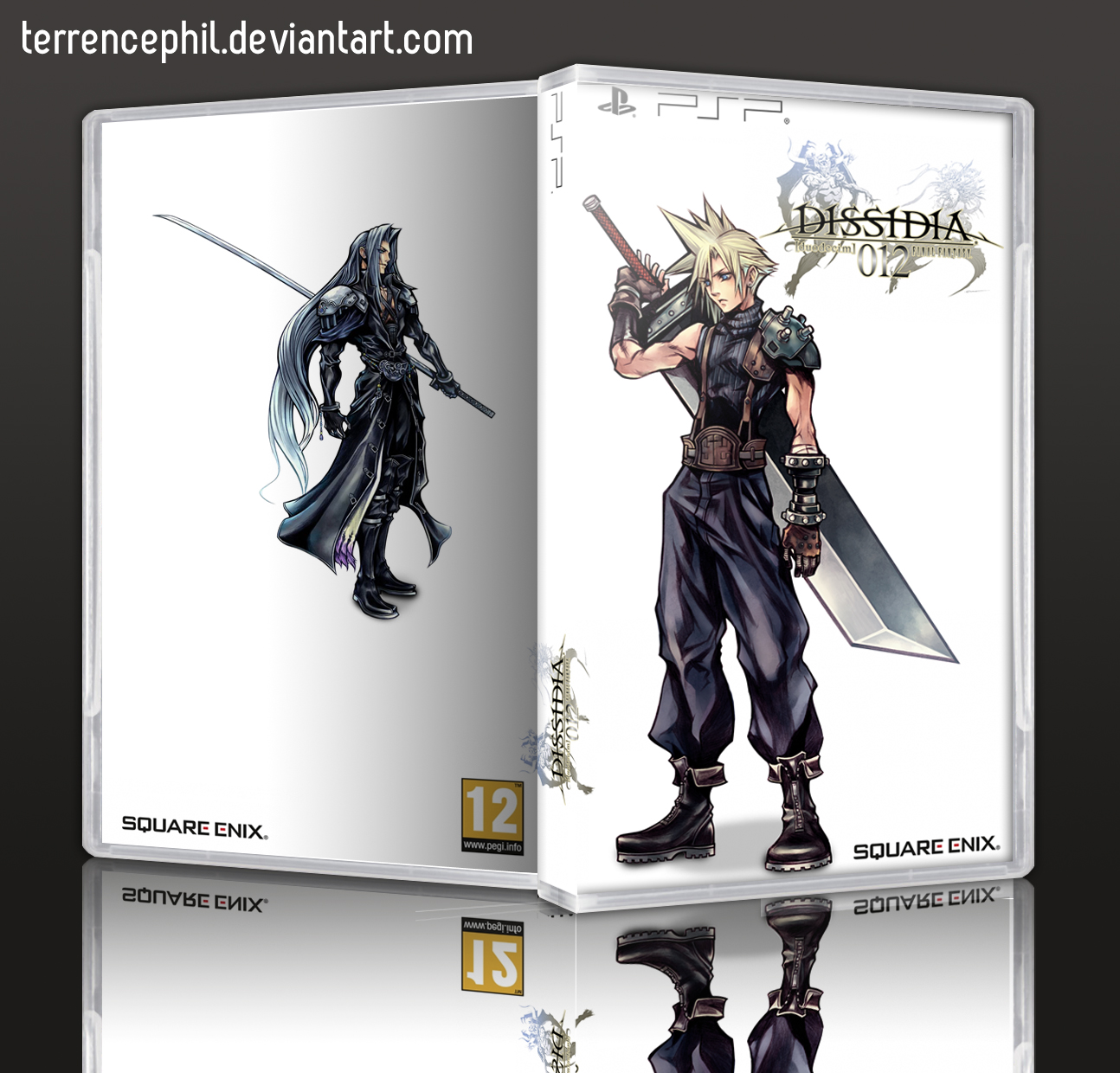 Final Fantasy Psp Box Art