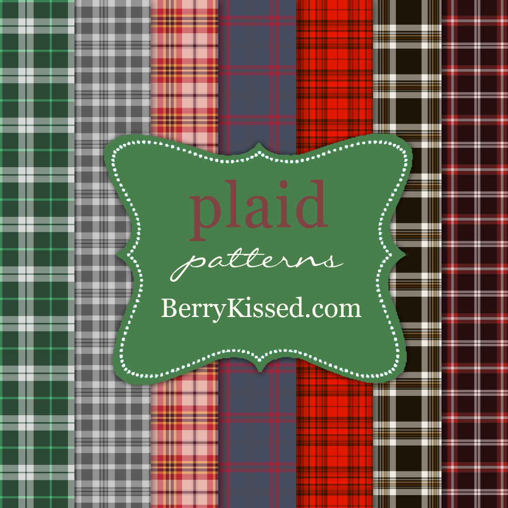 Plaid pattern pack - NEW
