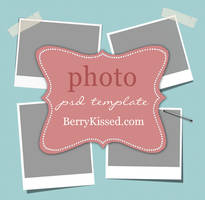 Blog Photo Template PSD by BerryKissed