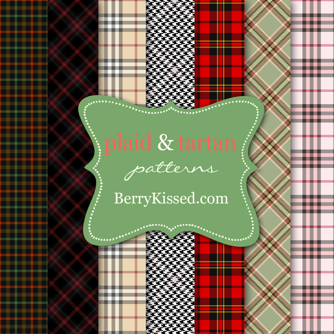 Plaid-Tartan-Patterns-by-BerryKissed by BerryKissed